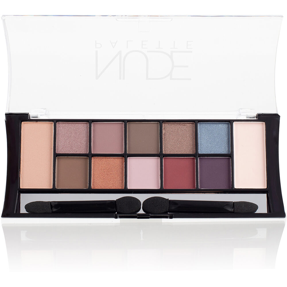"Тени для век набор TE-24-02C ""12 Nude Pallette Eyeshadow"" тон 02C Coloured Nudes"