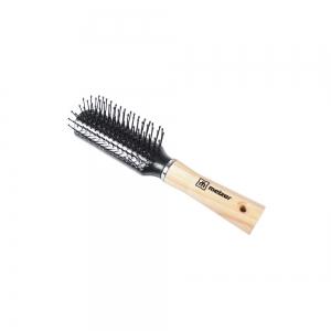 Расческа 260-W.9802-E c деревянной ручкой
