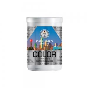 Маска для окрашенных и поврежденных волос Color с льняным маслом и УФ-фильтром, 1000мл