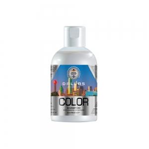 Шампунь для окрашенных и поврежденных волос Color Protect с льняным масл.и УФ-фильт, 1000г