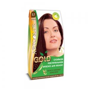 Раститительная краска для волос АртКолор Gold Шоколад, 25гр