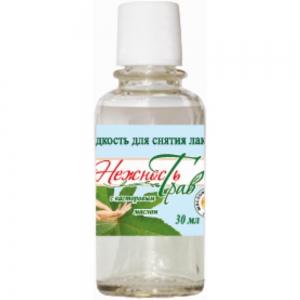 Жидкость для снятия лака Касторовое масло, 30мл