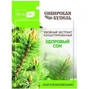 Сибирская Купель концентрат для ванн Здоровый сон, 75мл