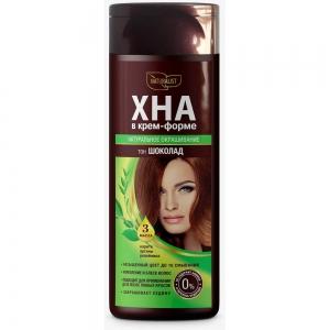 Хна для волос в крем-форме Шоколад , 170мл