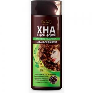 Хна для волос в крем-форме Классическая, 170мл