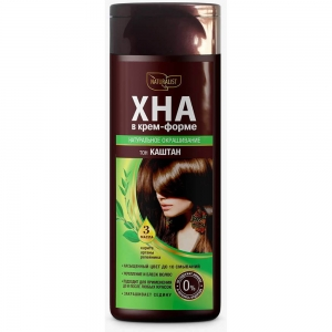 Хна для волос в крем-форме Каштан, 170мл
