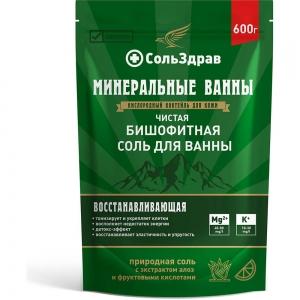 Соль для ванны Чистая бишофитная, 600г
