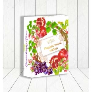 """Подарочный набор Солнечная коллекция №3 """"Красный виноград и гранат"""""""