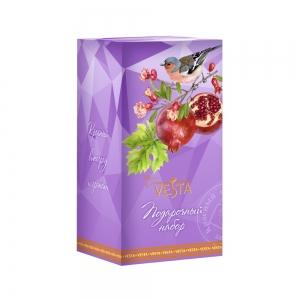 """Подарочный набор Солнечная коллекция №2 """"Красный виноград и гранат"""""""