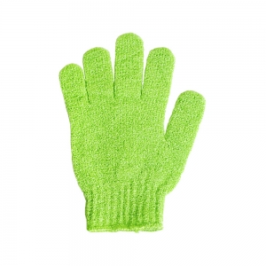 Мочалка синтетическая  перчатка для мытья и массажа 58777