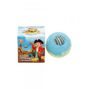 Соль для ванн Бурлящий шар для мальчиков с игрушкой, 130г кар/п (1шт)
