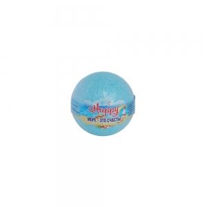 """Соль для ванн Бурлящий шар Happy """"Море-это счастье"""", 130г п/п (1шт)"""