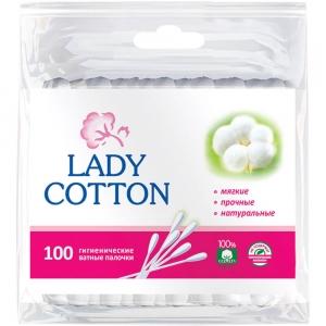 Ватные палочки Lady Cotton (100шт)