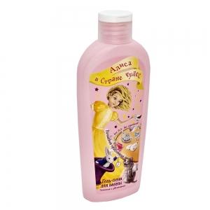 """Гель-пена для ванны Алиса в Стране Чудес """"Волшебное приключение"""" дыня, 250мл"""