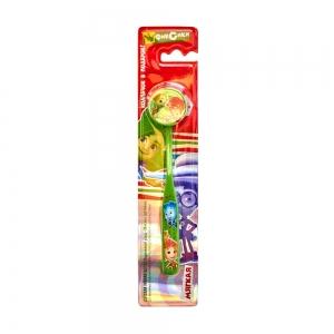 Зубная щетка с декоративным колпачком, мягкая