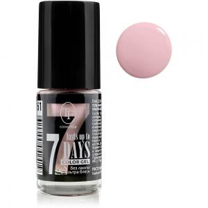 """Лак для ногтей """"Color Gel"""" тон 261, 8мл Розовый перламутр"""