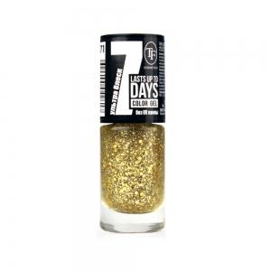 """Лак для ногтей """"Color Gel"""" тон 271 Золотые искры, 8мл"""