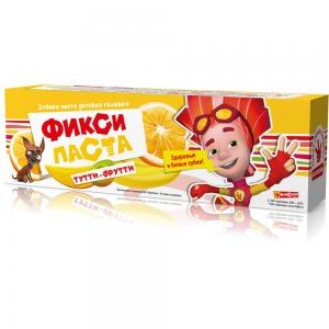 """Зубная паста ФИКСИКИ """"Тутти-Фрутти"""", 65г"""