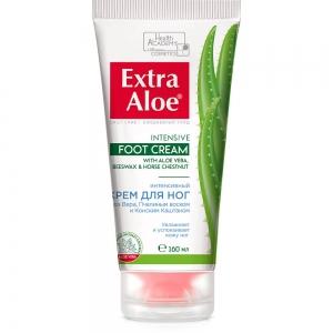 """Крем для ног Extra Aloe """"Интенсивный"""", 160мл"""