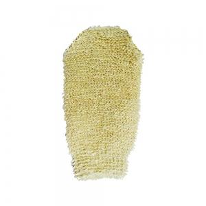 Мочалка натуральная (крапива + хлопок) варежка 45585
