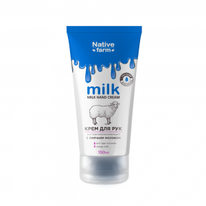 Крем для рук Milk ультраомолаживающий, с овечьим молоком, 150 мл