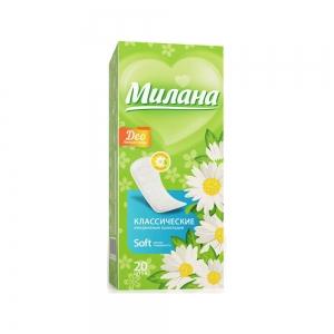 Прокладки гигиенические на каждый день Классик софт део Летние травы (20шт)