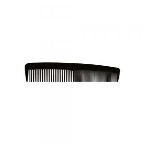 Гребень пластиковый без ручки черный 026007