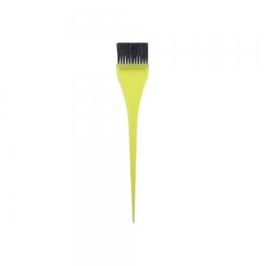 Кисть для окраски волос 35мм, желтая 303003