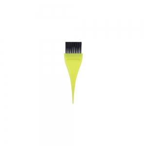 Кисть для окраски волос 32мм, желтая 304003