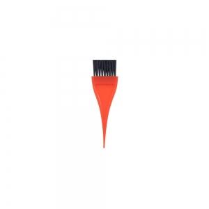 Кисть для окраски волос 32мм, оранжевая 304005