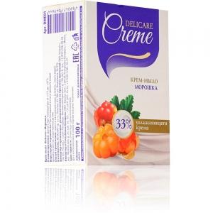 "Крем-мыло туалетное Delicare Creamy ""Морошка"", 100г"