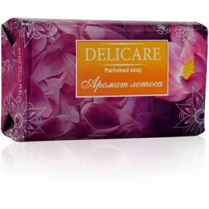 """Мыло туалетное Delicare Parfumed soap """"Лотос"""", 90г"""