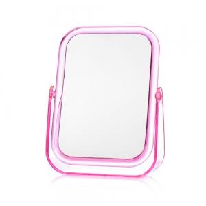 Зеркало квадрат настольное 17х13,8см в пласт.оправе