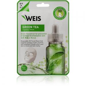 """Маска для лица Weis с экстрактом """"Зеленого чая"""", 23г"""