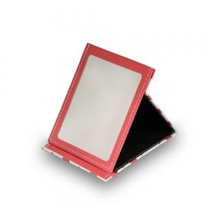 """Зеркало настольное """"Кошка"""" в мягкой оправе, прямоугольное, 10x13,5см"""