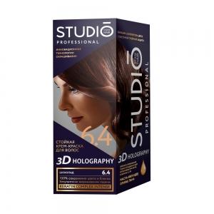 Стойкая краска для волос Шоколад 6.4