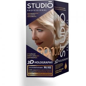 Стойкая краска для волос Платиновый блондин 90.102