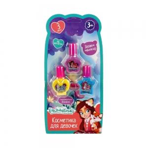 Подарочный набор декоративной косметики 3+ Лак для ногтей, 3шт (блистер)