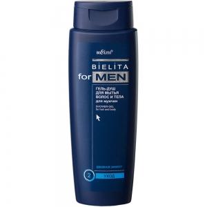 Bielita for Men Гель-душ для волос и тела 400мл