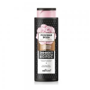 Розовая вода Шампунь-гидролат для волос Эффект глазирования волос, 400 мл