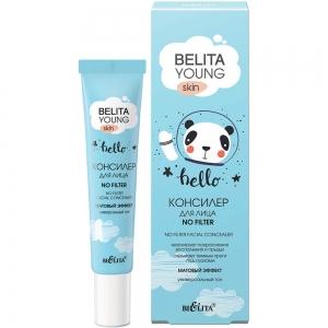 """Belita Young Skin No Filter Консилер для лица """"Матовый эффект"""" тон универсальный, 20мл"""