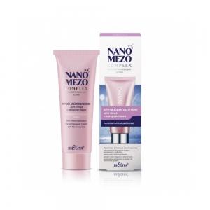 Крем-обновление для лица Nanomezocomplex с микроиглами Нановитализация кожи, 50мл