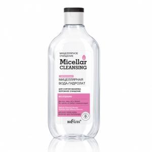 Мицеллярная вода-гидролат для снятия макияжа Micellar cleansing «Бережное очищение», 300мл
