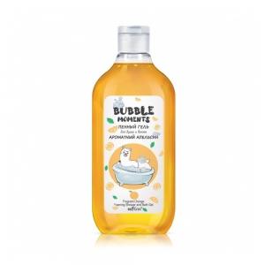 """Гель для душа и ванны Bubble moments """"Ароматный апельсин"""" пенный, 300мл"""
