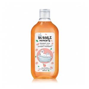"""Гель для душа и ванны Bubble moments """"Сочный грейпфрут"""" пенный, 300мл"""