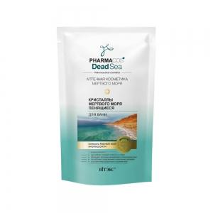 PHARMACos Dead Sea Кристаллы мертвого моря для ванн, пенящиеся, 500г