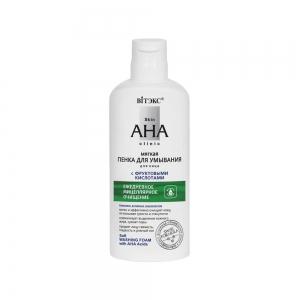 "Skin AHA Clinic Пенка для умывания ""мягкая"" с фруктовыми кислотами, 150мл"