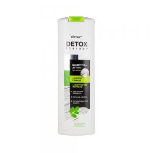 """Шампунь-Детокс для волос Detox Therapy с """"белой глиной и экстрактом моринги"""", 500мл"""