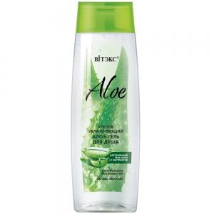 Aloe 97% Алоэ-гель ультраувлажняющий для душа с 7 экстрактами, 400мл