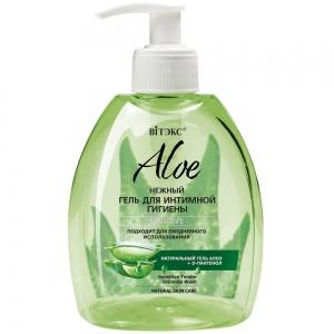 """Aloe 97% Гель нежный для интимной гигиены """"Sensitive"""" с D-пантенолом, 300мл"""